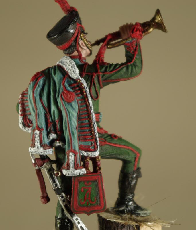Фигурки: Труба трубит, откинут полог…, фото #7