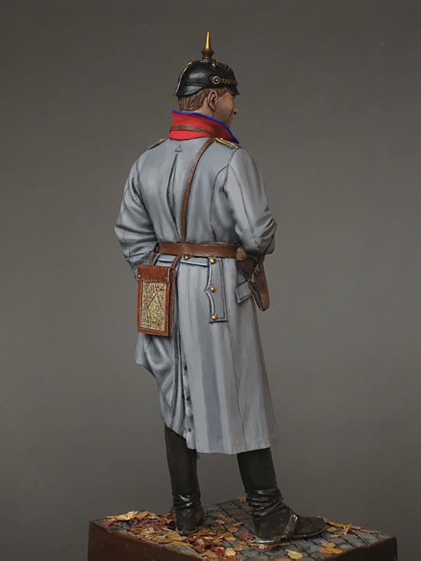 Фигурки: Германский кавалерийский офицер, фото #4