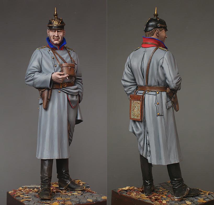 Фигурки: Германский кавалерийский офицер