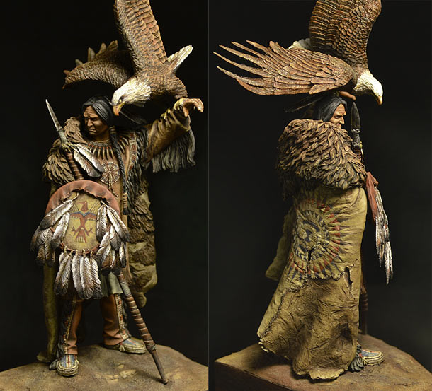Фигурки: Воин Дакота