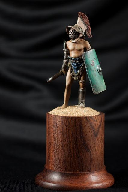Фигурки: Римский гладиатор-мурмиллон, фото #1