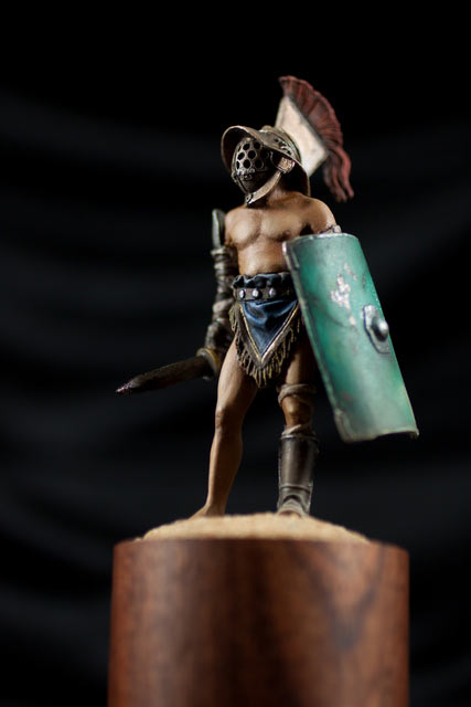 Фигурки: Римский гладиатор-мурмиллон, фото #10