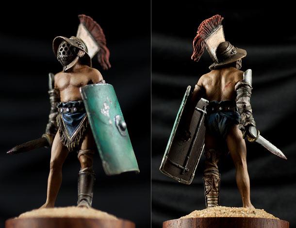 Фигурки: Римский гладиатор-мурмиллон