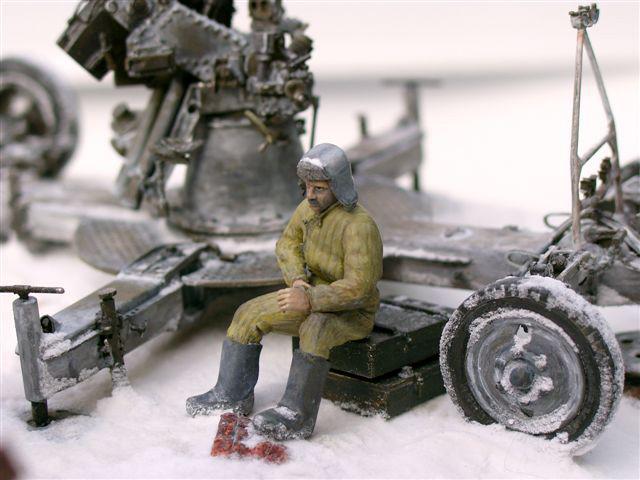 Диорамы и виньетки: Ленинградский расчет, фото #10