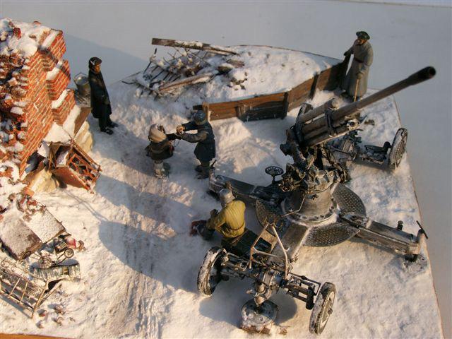 Диорамы и виньетки: Ленинградский расчет, фото #2
