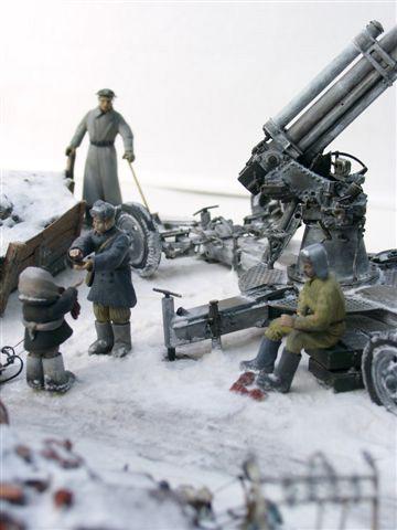 Диорамы и виньетки: Ленинградский расчет, фото #20