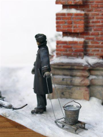 Диорамы и виньетки: Ленинградский расчет, фото #22