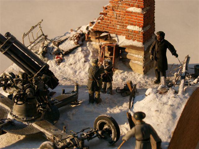 Диорамы и виньетки: Ленинградский расчет, фото #4