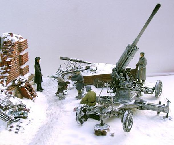 Диорамы и виньетки: Ленинградский расчет