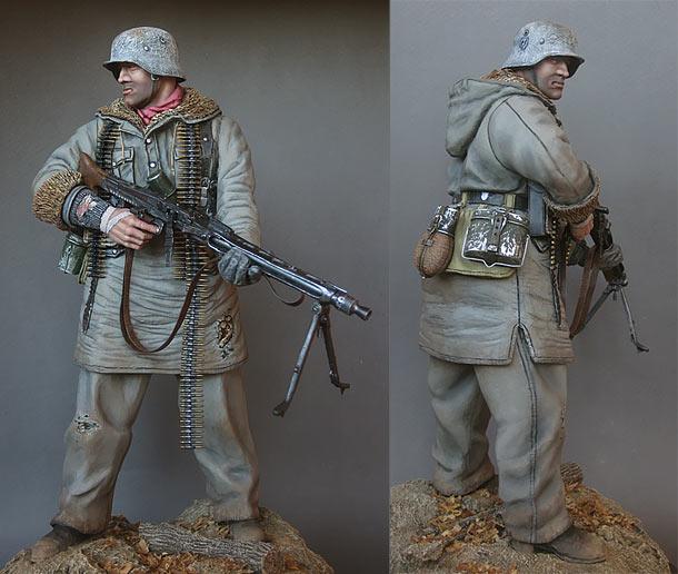 Фигурки: Пулеметчик Ваффен-СС