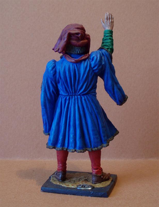 Фигурки: Западная Европа. Гранд-мастер артиллерии, XV век., фото #5