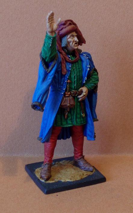 Фигурки: Западная Европа. Гранд-мастер артиллерии, XV век., фото #7