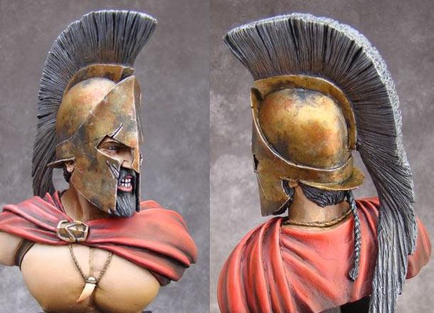 Фигурки: Спартанский царь