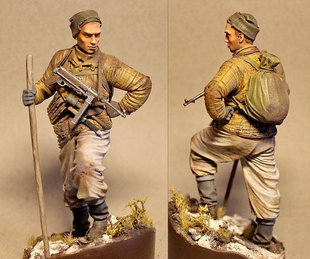 Фигурки: Разведчик сержант Никонов