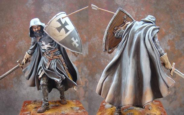 Фигурки: Средневековый рыцарь