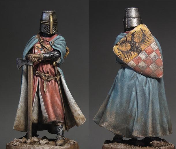 Фигурки: Германский рыцарь, XIII век
