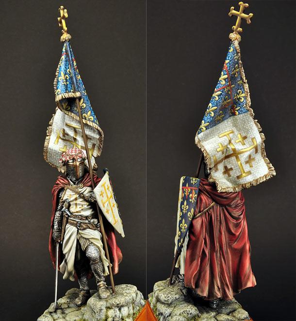 Фигурки: Знаменосец Карла I Анжуйского