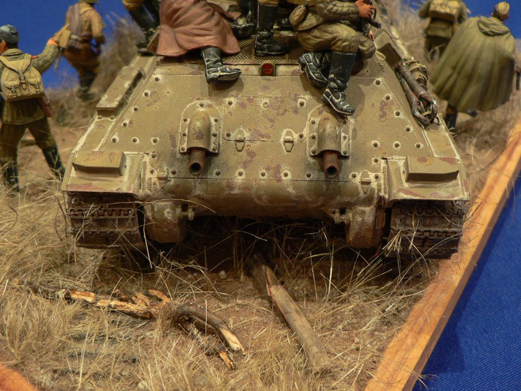 Диорамы и виньетки: Танковый десант, фото #14