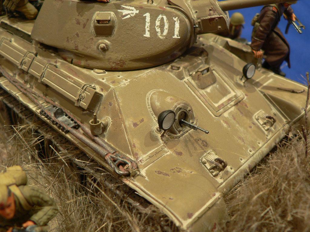 Диорамы и виньетки: Танковый десант, фото #21