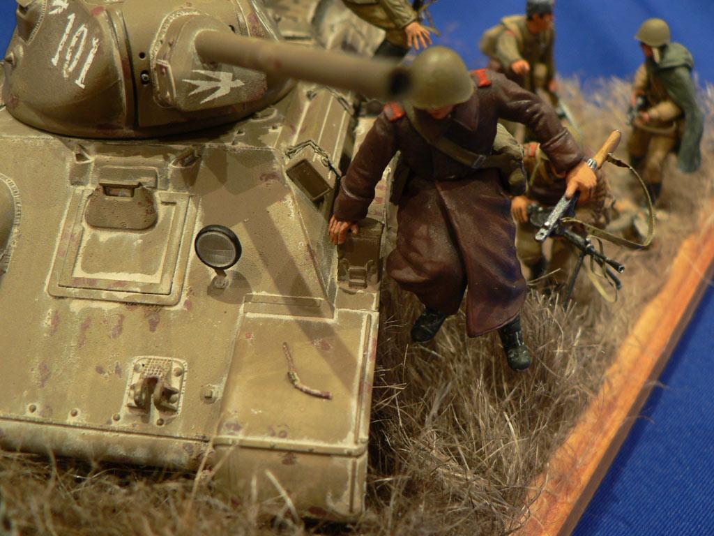 Диорамы и виньетки: Танковый десант, фото #22