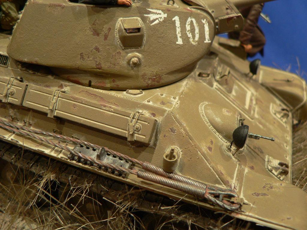 Диорамы и виньетки: Танковый десант, фото #28