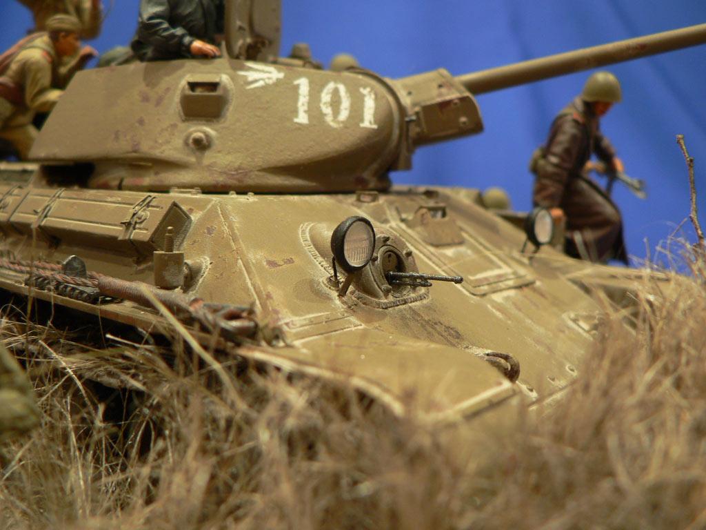 Диорамы и виньетки: Танковый десант, фото #34