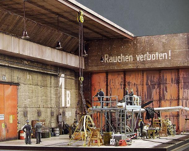 Диорамы и виньетки: Защищенный промышленный объект Lachs-Reimahg, 1946