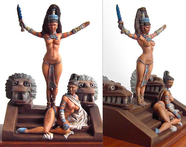 Разное: Майянские жрицы новой эры