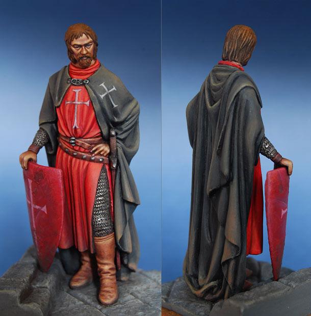 Фигурки: Крестоносец, 1240 г.