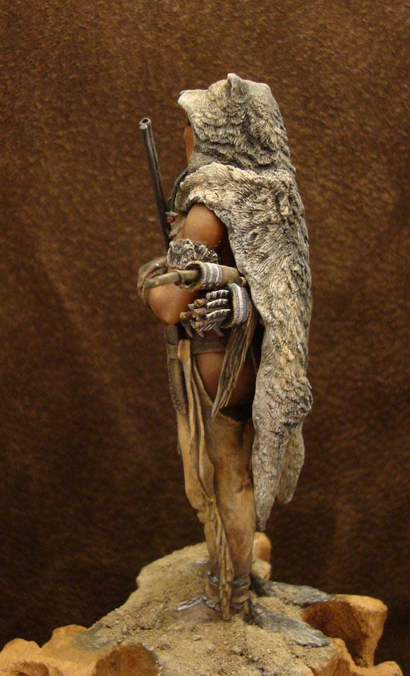 Фигурки: Следопыт-волк шайенов, фото #4