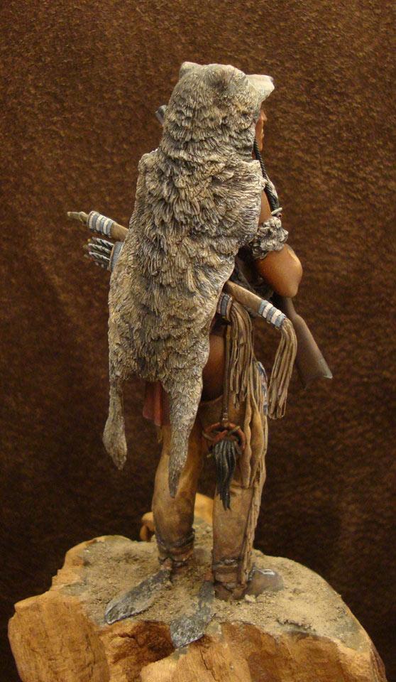 Фигурки: Следопыт-волк шайенов, фото #6