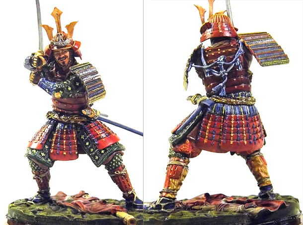 Фигурки: Самурай, XVI-XVII вв.
