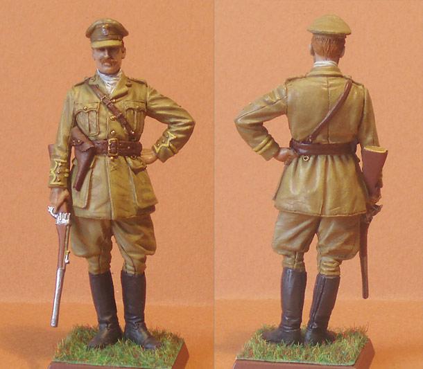 Учебка: Капитан 2-го батальона Королевских валлийских стрелков