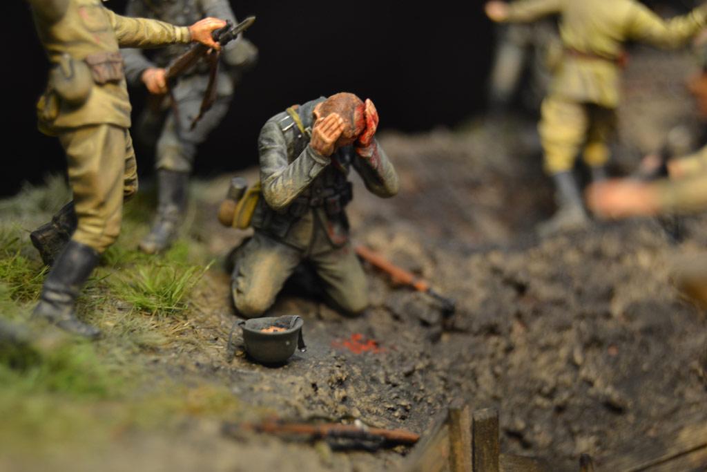 Диорамы и виньетки: В прорыв идут штрафные батальоны..., фото #26