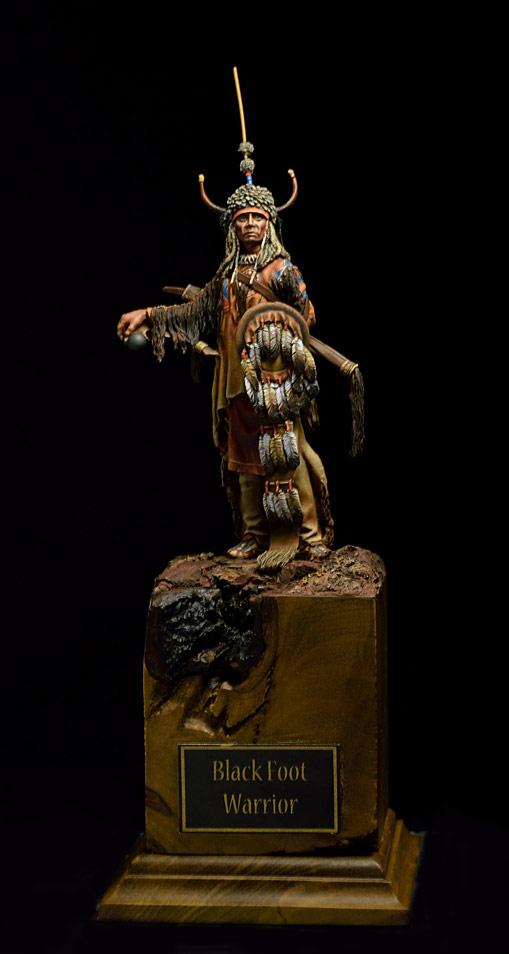Фигурки: Воин племени Черноногих, фото #1
