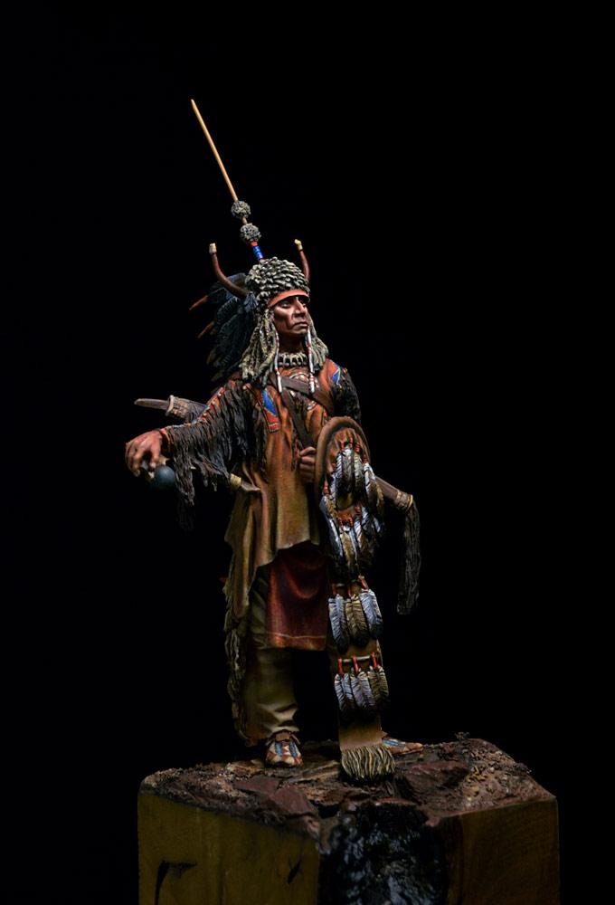 Фигурки: Воин племени Черноногих, фото #10