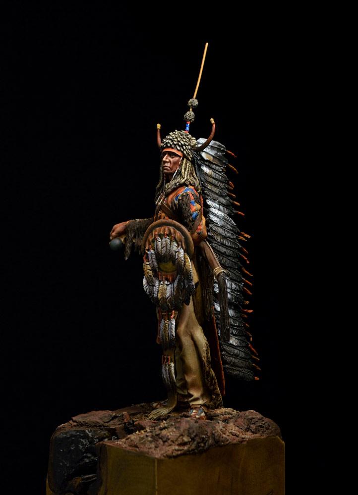 Фигурки: Воин племени Черноногих, фото #11