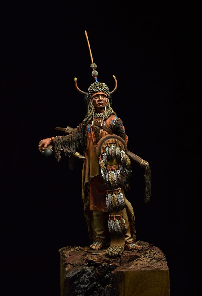 Фигурки: Воин племени Черноногих, фото #2