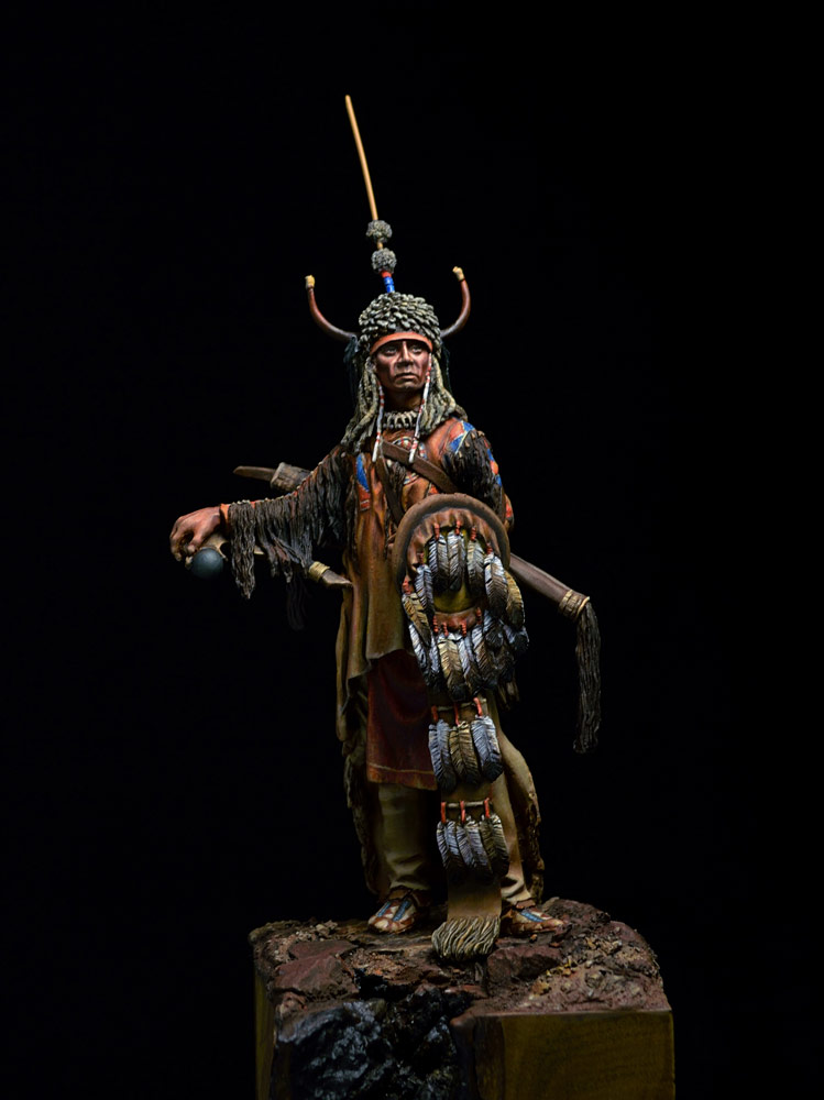 Фигурки: Воин племени Черноногих, фото #5