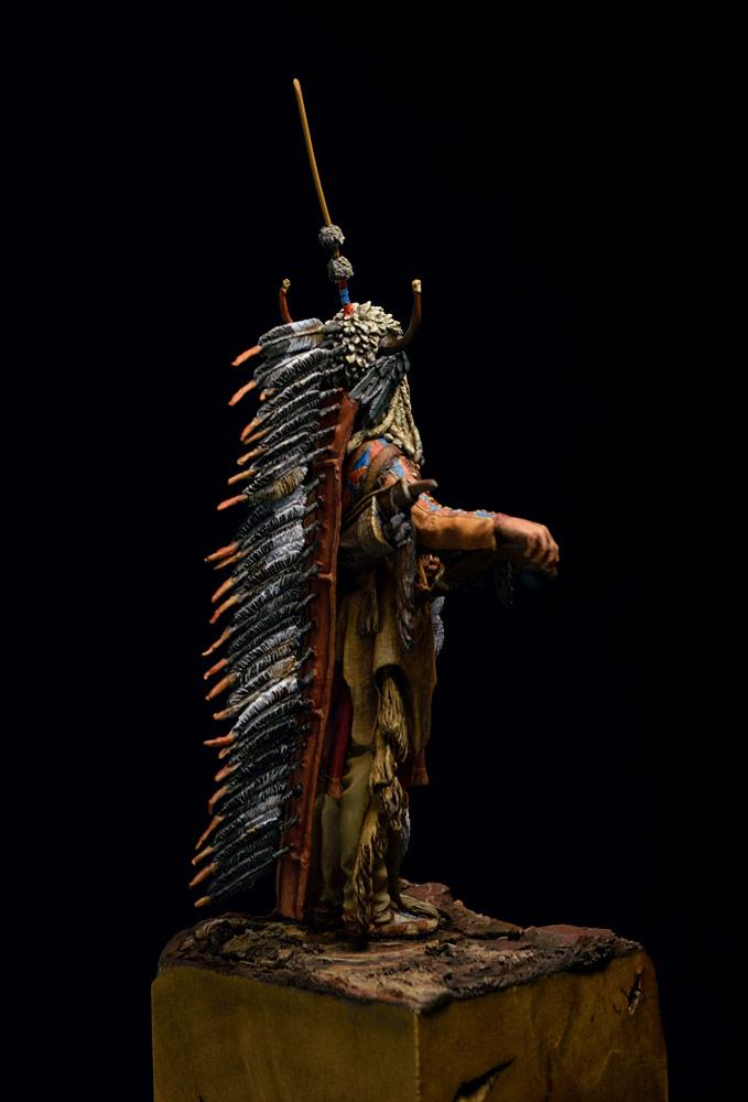 Фигурки: Воин племени Черноногих, фото #8