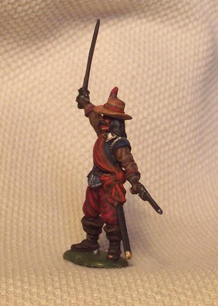 Фигурки: Капитан мушкетёров. Англия, 1642-51, фото #3