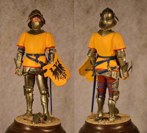 Учебка: Немецкий рыцарь XV века