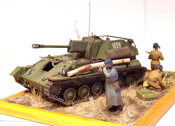 Диорамы и виньетки: СУ-76