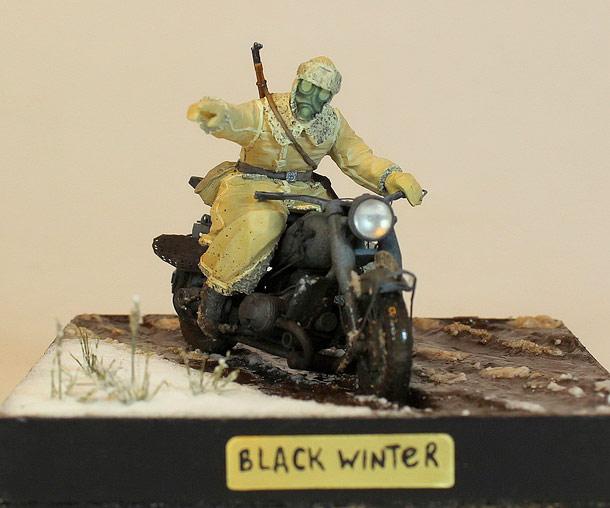 Диорамы и виньетки: Черная зима
