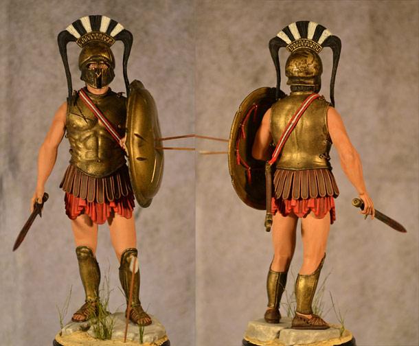 Учебка: Спартанский гоплит
