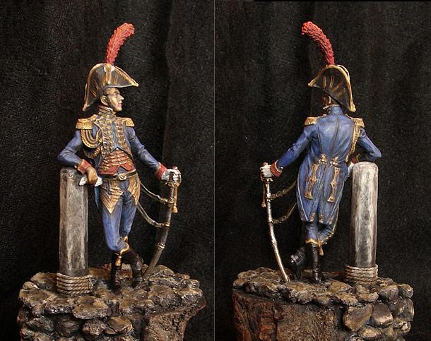 Фигурки: Офицер Морской пехоти Гвардии Наполеона