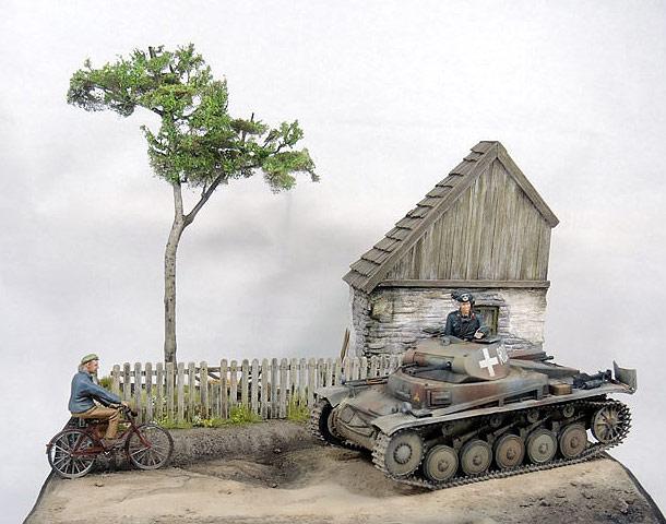 Диорамы и виньетки: Польша. Первые дни войны