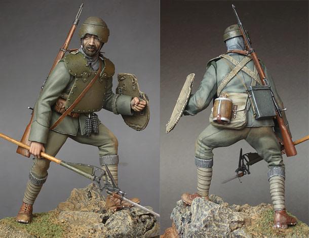 Фигурки: Итальянский ардито, 1916 г.
