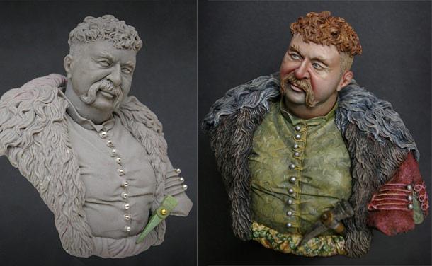 Скульптура: Принесите пива герою, измученному жаждой!