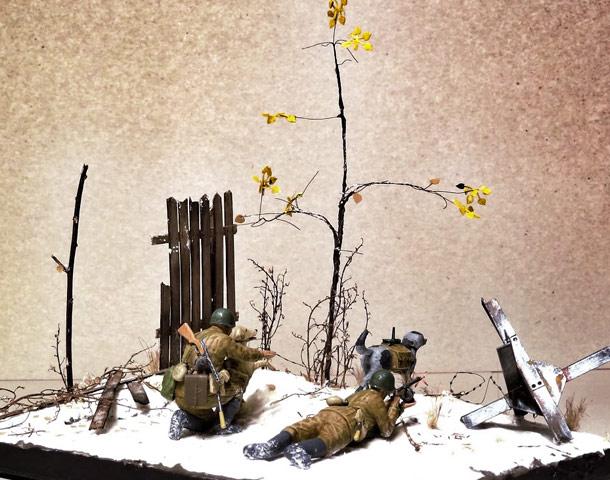 Диорамы и виньетки: Советские истребители танков